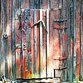 Old Barn Door 2 by Duane McCullough