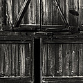 Old Barn Door - Bw by Paul W Faust -  Impressions of Light