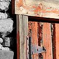 Old Barn Door by Tony Hake