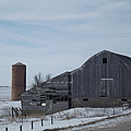 Old Barn by Bonfire Photography