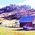Old Barn In November Filtered by Duane McCullough