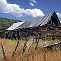 Old Barn Las Trampas New Mexico by Kurt Van Wagner