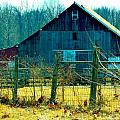 Old Barn by Nancy Wagener