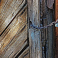 Old Barn New Lock by Karey and David Photography
