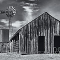 Old Barn No Wind by Mark Myhaver