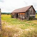 Old Barn On Highway 86 - Rustic Barn by Gary Heller