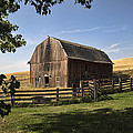 Old Barn On The Palouse by Paul DeRocker