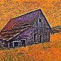 Old Barn Orange by Stanley  Funk