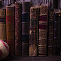 Old Baseball And Books by Garry Gay