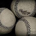 Old Baseballs by Paul Ward