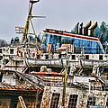 Old B.c. Ferry by Randy Harris