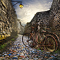 Old Bicycles On A Sunday Morning by Debra and Dave Vanderlaan