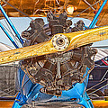 Old Biplane by Duane Angles