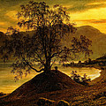 Old Birch Tree At The Sognefjord by Thomas Fearnley