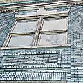Old Blue Building I by Debbie Portwood