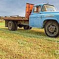 Old Blue Farm Truck by Edward Fielding