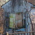 Old Blue Shack by Tom Gari Gallery-Three-Photography