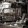 old BMC diesel by Meirion Matthias