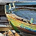 Old Boat - Lebanese Artist Zaher El- Bizri by Zaher Bizri