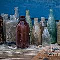 Old Bottles by Dale Powell