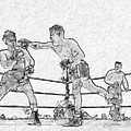 Old Boxing Old Time by John Farr