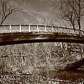 Old Bridge In Autumn by Frank Romeo