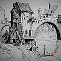 Old Bridge by Maxwell Mandell