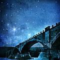 Old Bridge Over River by Jill Battaglia