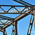 Old Bridge Structure by Kaye Menner