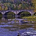 Old Bridge Two by Ken Frischkorn