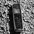 Old Broken Smashed Thrown Away Cheap Cordless Phone Usa by Joe Fox