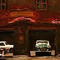Old Brooklyn Garage by William Bezik