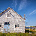 Old Building In North Rustico by Elena Elisseeva