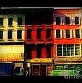 Old Buildings 6th Avenue - Vintage Nyc Architecture by Miriam Danar