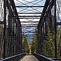 Old Canmore Railroad Bridge by Bob Phillips