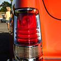 Old Car Tail Light by Karl Rose
