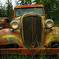 Old Cars Left To Decorate The Weeds by Jeff Swan