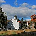 Old Cemetery Harvard Ma by Michael Saunders