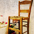 Old Chair by Christos Dimou