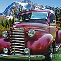 Old Chevy Pickup Ca5073-14 by Randy Harris
