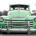 Old Chevy Pickup Truck by Edward Fielding
