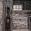 Old Chicken Coop by Edward Fielding