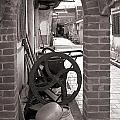 Old Chinese Village Street by Yali Shi