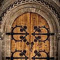 Old Church Door by Edward Fielding