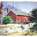 Old Church Schoolhouse  by Rick Mock