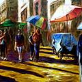 Old City Ahmedabad  Series 2 by Uma Krishnamoorthy