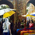 Old City Ahmedabad Series 8 by Uma Krishnamoorthy