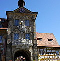 Old City Hall - Bamberg by Christiane Schulze Art And Photography