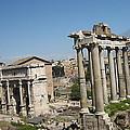 Old City Roma by Yury Bashkin
