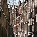 Old City Street Scene In London by Marcus Dagan